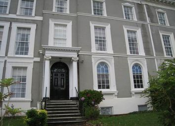 Thumbnail 1 bed flat to rent in Victoria Park Road, St. Leonards, Exeter