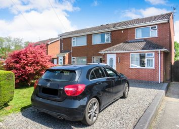 Thumbnail 3 bed semi-detached house for sale in Hazlewood Crescent, Asfordby, Melton Mowbray