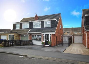 Thumbnail 3 bed semi-detached house for sale in Tindale Walk, Acklam, Middlesbrough