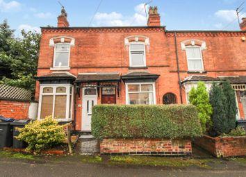Thumbnail 2 bed terraced house for sale in Hermitage Road, Erdington, Birmingham