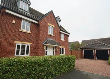 Thumbnail 5 bed detached house for sale in Bridgewater Drive, Buckshaw Village, Chorley