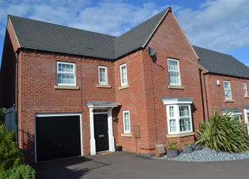 Thumbnail 4 bed detached house for sale in Hope Way, Church Gresley, Swadlincote