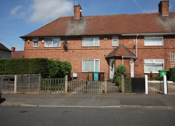 Thumbnail 3 bed terraced house for sale in Wendover Drive, Nottingham