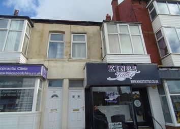 Thumbnail 2 bedroom flat to rent in King Street, Blackpool