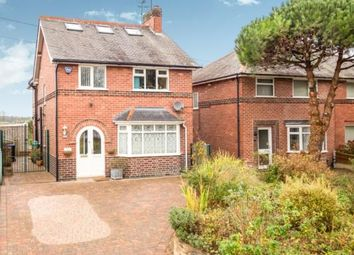 Thumbnail 4 bed detached house for sale in Papplewick Lane, Hucknall, Nottingham, Nottinghamshire
