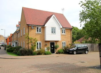 Thumbnail 3 bed end terrace house for sale in Hubberd Road, Little Canfield, Dunmow, Essex