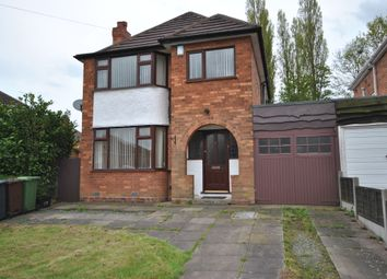 Thumbnail 3 bed detached house to rent in Coniston Avenue, Solihull