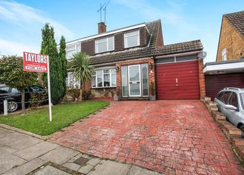 Thumbnail 3 bedroom semi-detached house for sale in Glemsford Close, Luton, Bedfordshire