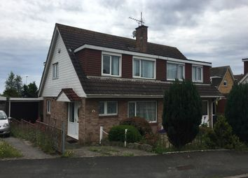 Thumbnail 3 bedroom semi-detached house to rent in Elm Grove Drive, Dawlish