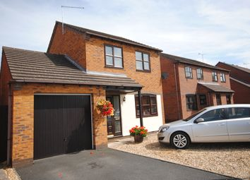 Thumbnail 3 bed detached house for sale in Pezenas Drive, Market Drayton