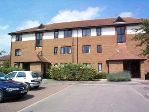 Thumbnail 1 bed flat for sale in Oakside Court, Horley
