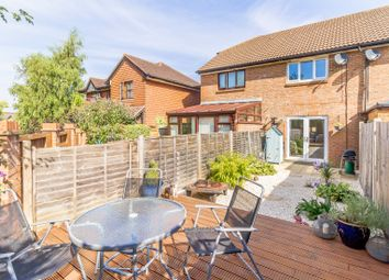 Thumbnail 2 bed terraced house for sale in Nicotiana Court, Church Crookham, Fleet