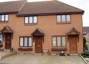 Thumbnail 1 bed terraced house to rent in Ogilvie Court, Wickford, Essex