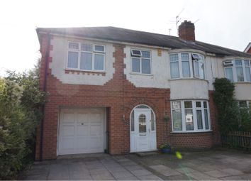 Thumbnail 4 bed semi-detached house for sale in The Avenue, Leicester