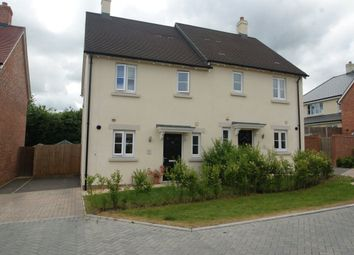 Thumbnail 3 bedroom semi-detached house to rent in Hyde Park, Lords Way, Andover