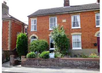 Thumbnail 3 bedroom end terrace house for sale in London Road, Beccles