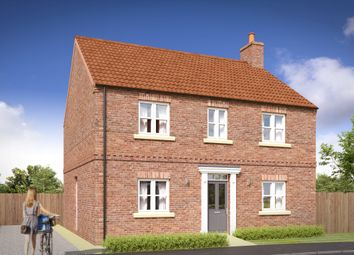 Thumbnail 4 bed detached house for sale in Raskelf Road, Easingwold, York