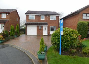 Thumbnail 4 bed detached house for sale in Wheatfield Close, Bredbury, Stockport