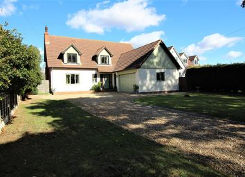 Thumbnail 4 bed detached house for sale in Mill Road, Sharnbrook, Bedford
