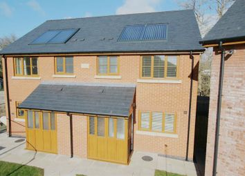 Thumbnail 3 bed semi-detached house for sale in River View Close, Boughrood, Brecon