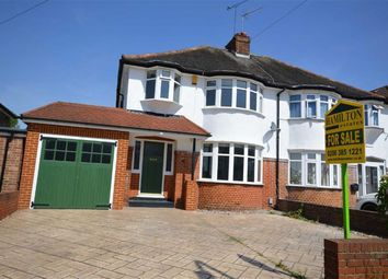 Thumbnail 3 bed semi-detached house for sale in Wykeham Hill, Wembley, Middlesex