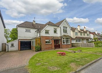 Thumbnail 4 bed detached house for sale in Chipstead Road, Banstead