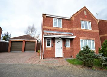 Thumbnail 4 bed detached house to rent in Belcher Close, Heather, Coalville
