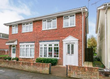 Thumbnail 3 bed semi-detached house for sale in Newcastle Avenue, Colchester