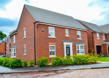 Thumbnail 4 bed detached house for sale in Clark Drive, Northwich