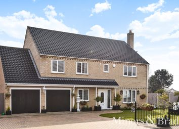 Thumbnail 4 bed detached house for sale in Martin De Rye Way, Caister-On-Sea, Great Yarmouth