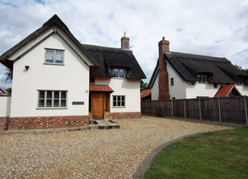 Thumbnail 4 bed detached house for sale in Shop Street, Whinburgh, Dereham, Norfolk