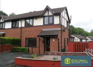 Thumbnail 2 bed semi-detached house to rent in The Heathers, Bamber Bridge, Preston