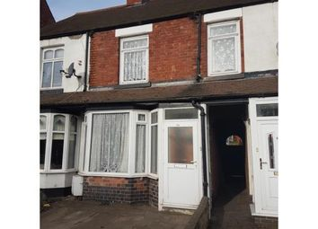 Thumbnail 2 bed terraced house for sale in Coventry Road, Kingsbury, Tamworth, Warwickshire