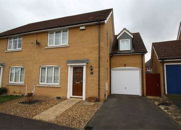 Thumbnail 4 bedroom semi-detached house for sale in Cormorant Drive, Stowmarket, Suffolk