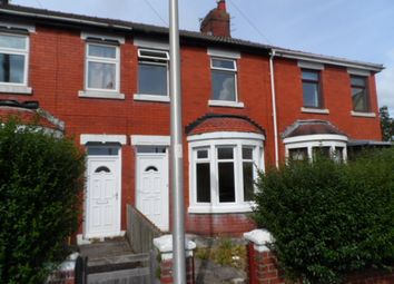 Thumbnail 3 bed terraced house to rent in Thursfield Avenue, Blackpool