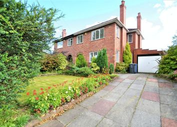 Thumbnail 4 bed semi-detached house to rent in Ellenbrook Road, Worsley, Manchester