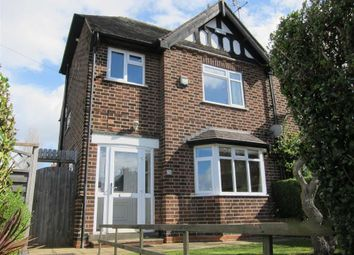 Thumbnail 3 bed semi-detached house to rent in Mapperley Rise, Mapperley, Nottingham