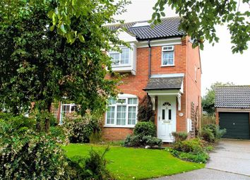 Thumbnail 3 bed end terrace house for sale in Old School Close, Codicote, Hertfordshire
