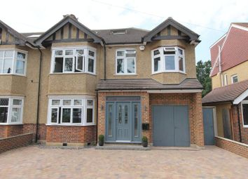 Thumbnail 5 bedroom semi-detached house for sale in Wickham Avenue, North Cheam, Sutton