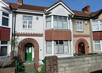 Thumbnail 3 bedroom terraced house for sale in Ravenhill Avenue, Knowle, Bristol