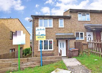 Thumbnail 1 bed end terrace house for sale in Ramillies Close, Walderslade, Chatham, Kent