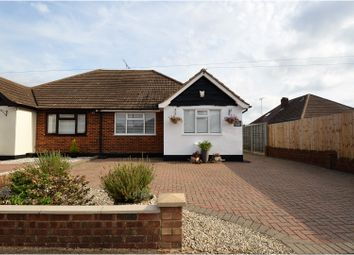 Thumbnail 2 bed semi-detached bungalow for sale in Crossby Close, Brentwood