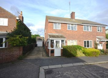 Thumbnail 3 bed semi-detached house for sale in Rayfield Close, Barnston, Dunmow