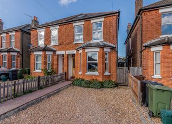 Thumbnail 3 bed semi-detached house for sale in Caxton Gardens, Guildford