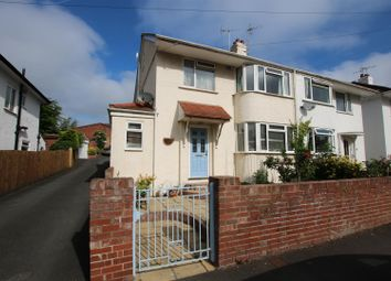 Thumbnail 4 bedroom semi-detached house for sale in Buckerell Avenue, St Leonards, Exeter