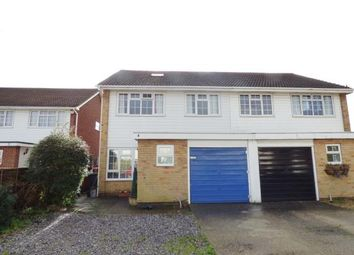 Thumbnail 3 bed semi-detached house for sale in Fairthorne Gardens, Gosport