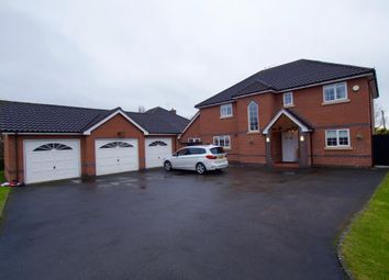 Thumbnail 5 bed detached house to rent in Mountfields, Bangor-On-Dee, Wrexham