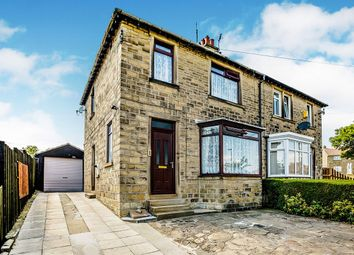 Thumbnail 3 bed semi-detached house for sale in Sycamore Avenue, Milnsbridge, Huddersfield