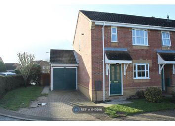 Thumbnail 3 bedroom end terrace house to rent in Sorrel Drive, Attleborough