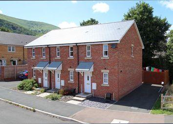 Thumbnail 2 bed end terrace house for sale in Ffordd Sain Ffwyst, Llanfoist, Abergavenny